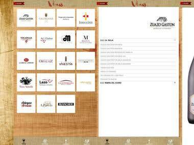 Legado Gourmet: app de listados y clasificación de productos