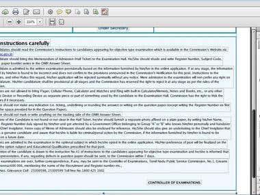 PDF editing.