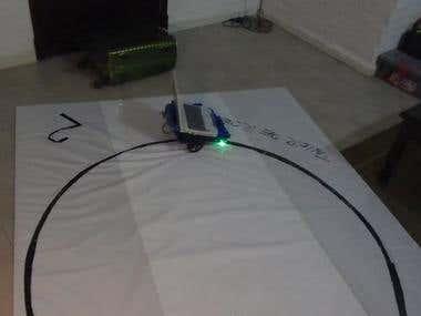 Line follower:Teaching robotics at school