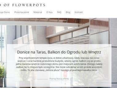 Teksty na stronę http://worldofflowerpots.pl