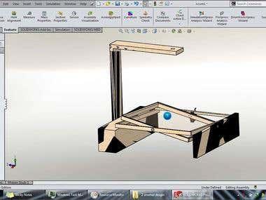Ball Plate Balancing Project