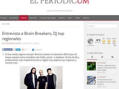 Entrevista a Brain Breakers/Interview with Brain Breakers