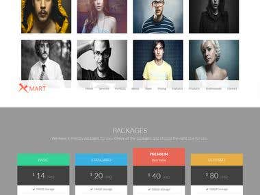 Xmart HTML Template