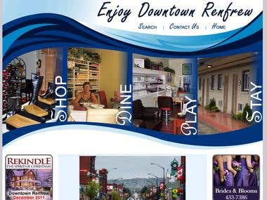 Website of Downtown Renfrew