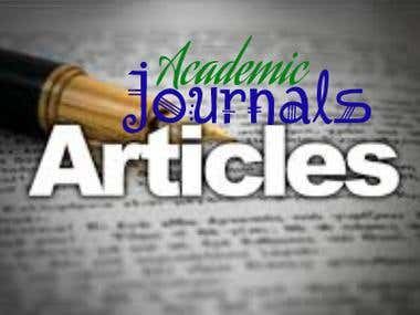 Academic Journals Articles for any website