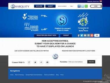 SHARQUITY - Bilingual E-commerce Site  [Arabic + English]