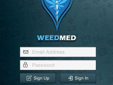 WeedMed - An Android App for Weed Medical Shop, Doctors etc.