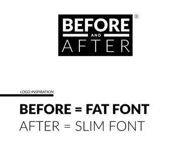 Before & After / Fitness _ Logo