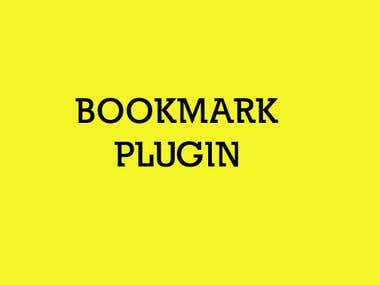 Bookmark Wordpress plugin