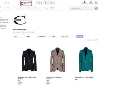 Ecommerce cotton clothes
