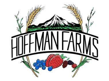 Hoffman Farms Logo Redesign