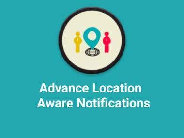 Advance Location Aware App (Tourist App)