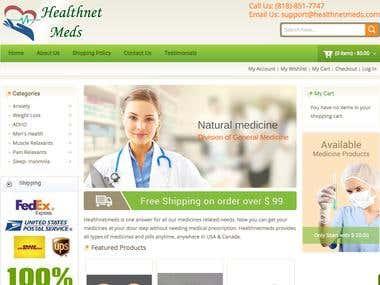 Helthnetmeds - Magento store