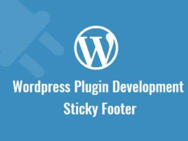 Sticky Footer Plugin