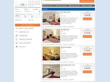 Hotel Reservation Engine