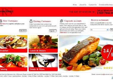 Online Restaurants Browsing & Meal Ordering Website