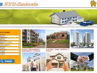 Portal para Imobiliárias