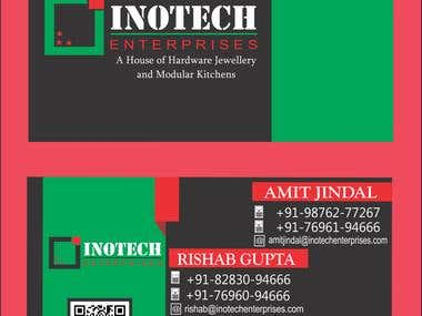Visiting Cards design