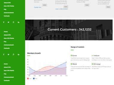 Finacial website MMM
