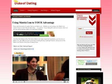 Duke of Dating Project
