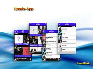 Music Sharing App