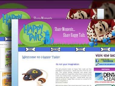 Wordpress site Design.