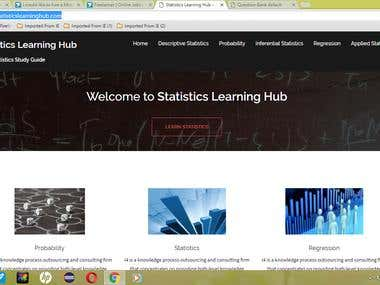 Statistics Learning Hub
