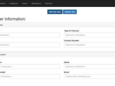 Attendance Management Portal