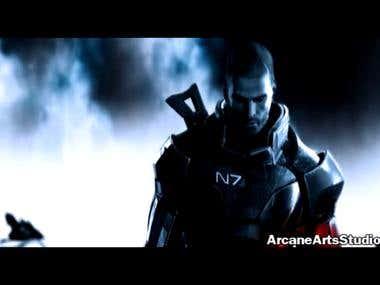Mass Effect 3 Image Animation Matte Painting