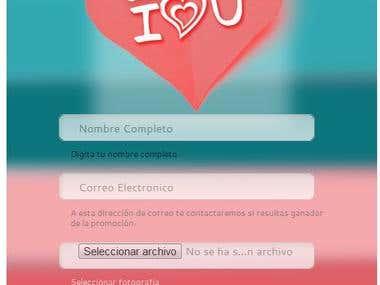 Faebook App - Photo contest