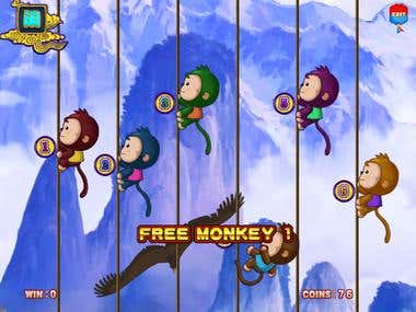 Casino Game MonkeyThunderbolt