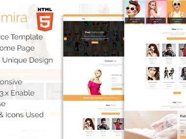 Faashmira Shop  - Premium ecommerce html template