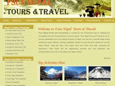 First Trekking Website