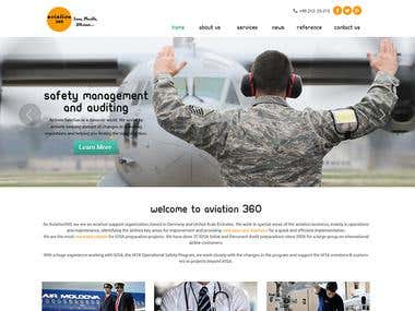 Aviation 360 Website