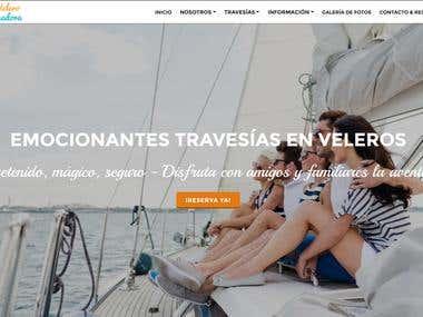 Full custom responsive web design with advanced SEO (Google)