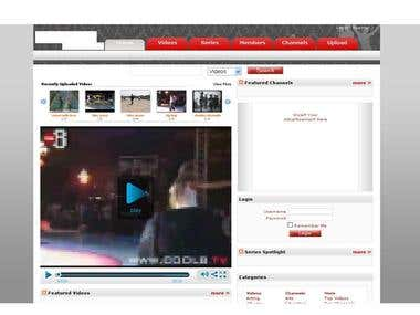 CLone of Youtube with additional features