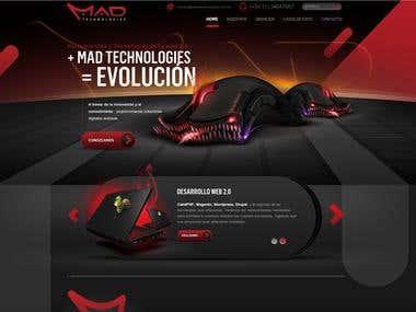 MadTechnologies WebSite