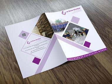 Brochure Design For Manpower Packaging  Company