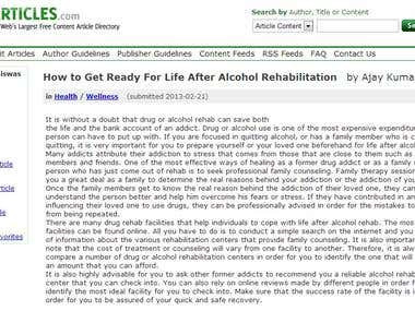 How to Get Ready For Life After Alcohol Rehabilitation
