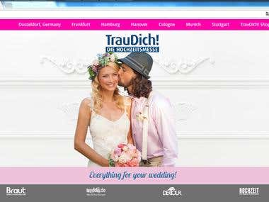 WordPress Website - http://traudich.de/