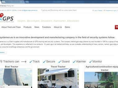WordPress Website - http://gpsvolgsystemen.eu