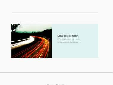 Landing page — Transistor computer
