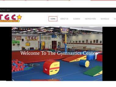 Gymnastic site