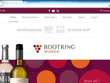 WordPress Website - http://rootring-wijnen.nl/