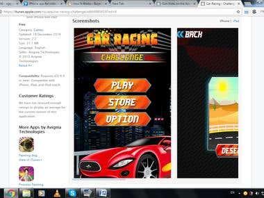 GAME : Car Racing