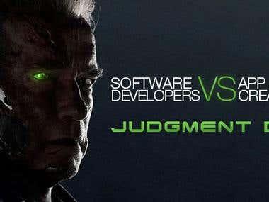 Software developers vs App creators: Judgment Day