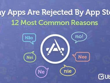 12 Most Common Reasons Why Apps Are Rejected By App Store