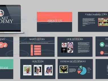 Presentations - Powerpoint / Keynote
