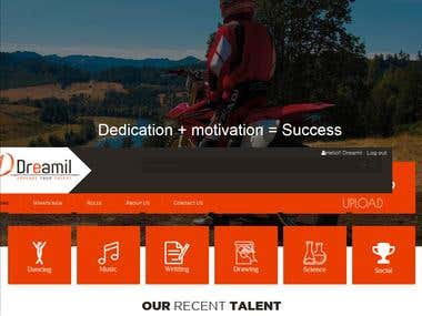 Talent Website