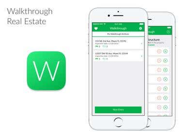 Walkthrough Realestate App